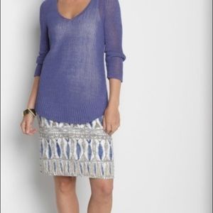 NIC+ZOE Nordstrom Pisces Multi Print Pencil Skirt
